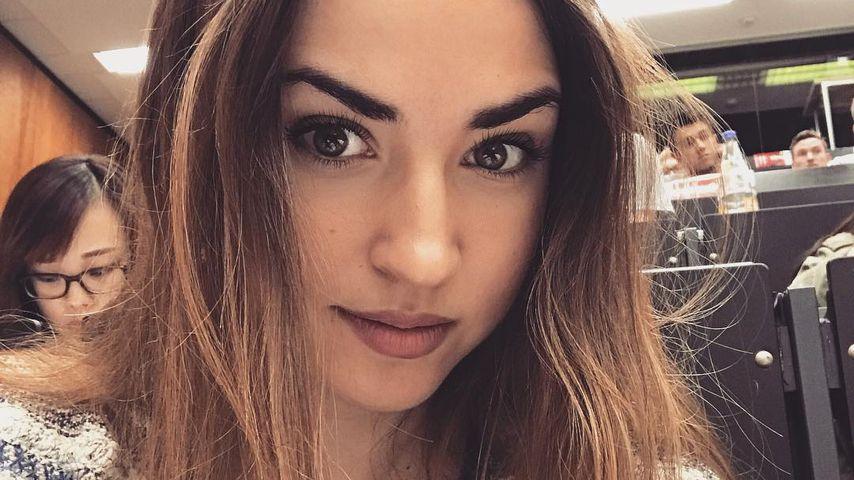 Selfie in der Uni: Klausuren-Stress bei Ekaterina Leonova!