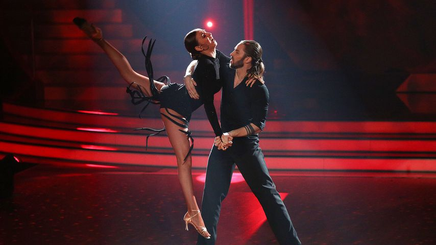 "Ekaterina Leonova und Gil Ofarim bei ""Let's Dance"" 2017"