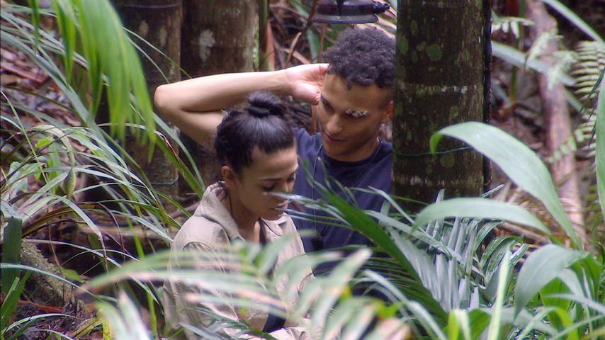 Elena Miras und Prince Damien im Dschungelcamp