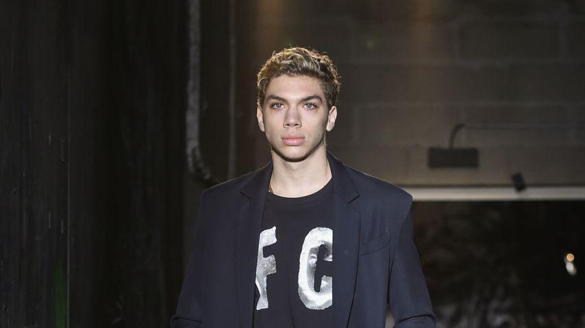Elias Becker auf der Pariser Fashion Week