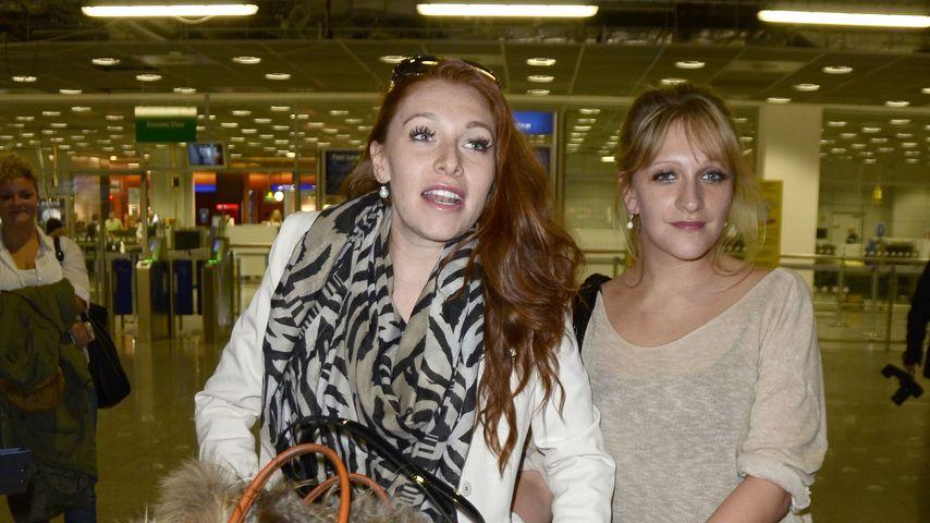 Georgina und ihre Schwester Elisabeth