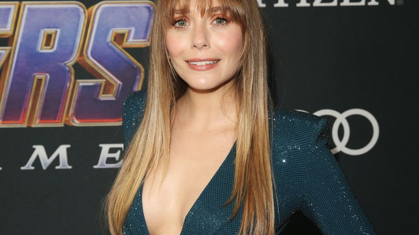 "Elizabeth Olsen bei der ""Avengers: Endgame""-Premiere"