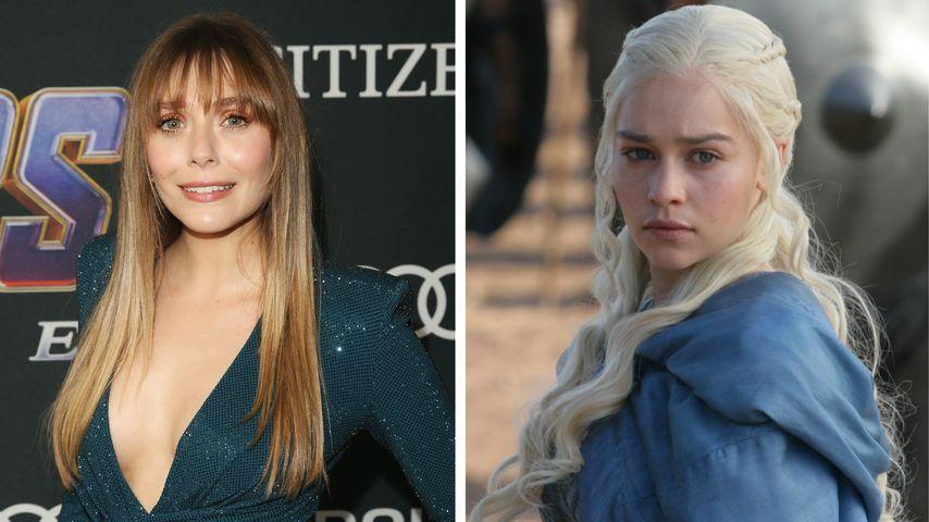 "Collage: Elizabeth Olsen und Emilia Clarke alias Daenerys Targaryen (""Game of Thrones"")"