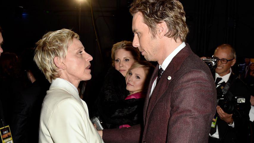 Ellen DeGeneres, Kristen Bell und Dax Shepard