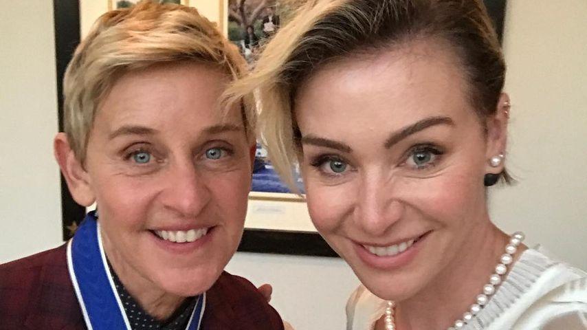 """Ellen DeGeneres während der Verleihung der """"Freiheitsmedaille des Präsidenten"""" 2016"""