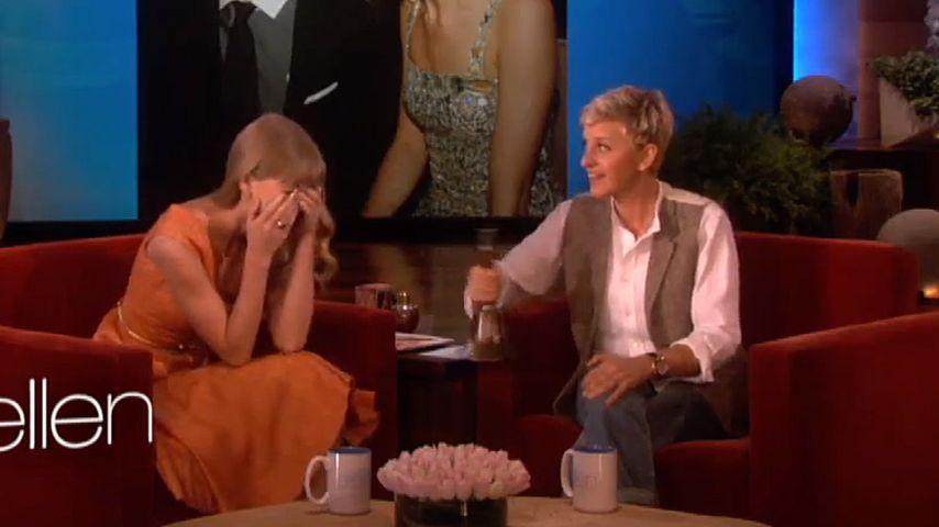 Typ-Test: Taylor Swift versinkt vor Scham im Boden