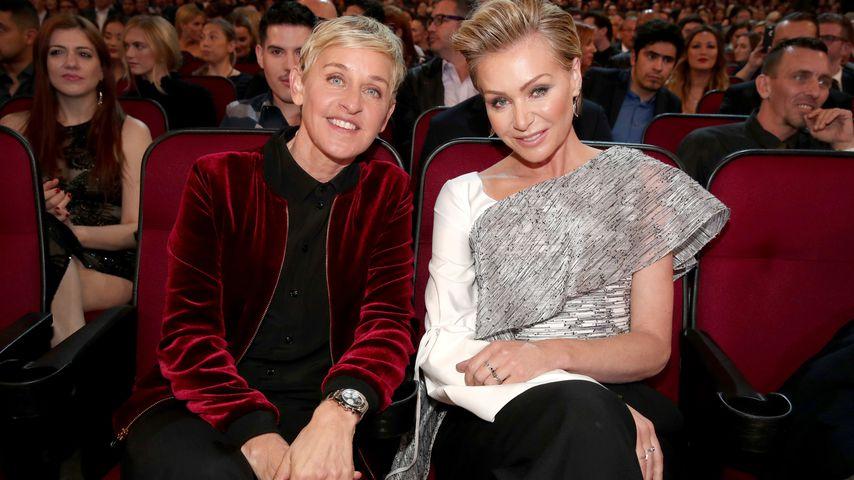 Ellen DeGeneres und Ehefrau Portia de Rossi bei den People's Choice Awards 2017