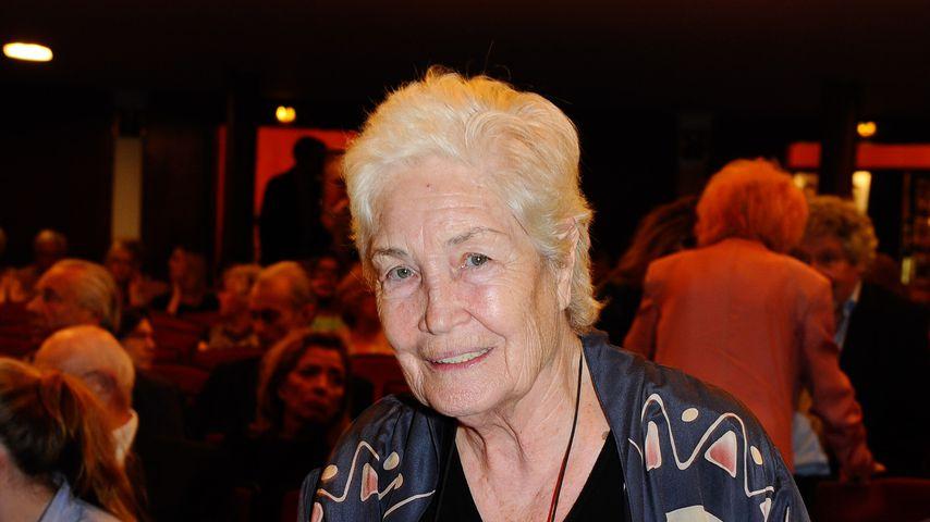 """Ellen Schwiers bei der Theater-Premiere von """"Der Kurschattenmann"""", 2015"""