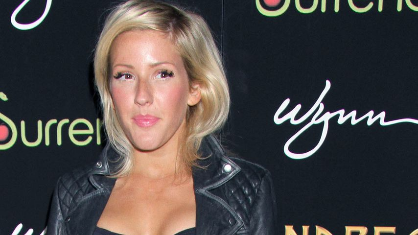 Style-Wandel: Ellie Goulding im sexy Rock-Outfit