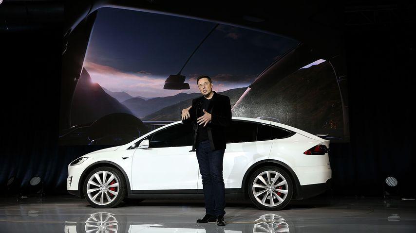 Elon Musik im September 2015 in Fremont