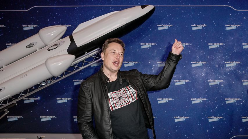 Elon Musk 2020 in Berlin