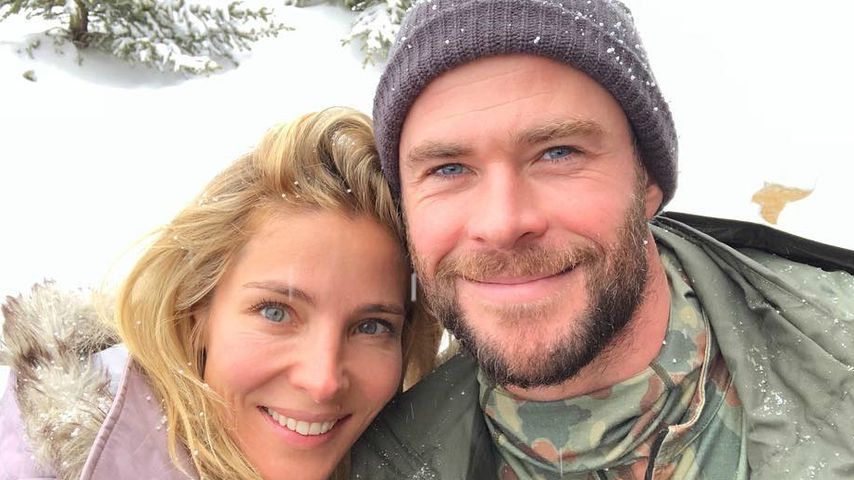 Elsa Pataky und Chris Hemsworth in Montana