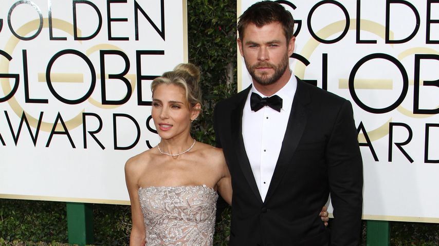 Elsa Pataky und Chris Hemsworth bei den Golden Globe Awards