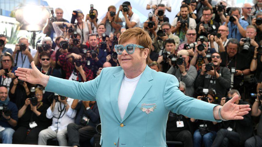 Elton John 2019 in Cannes