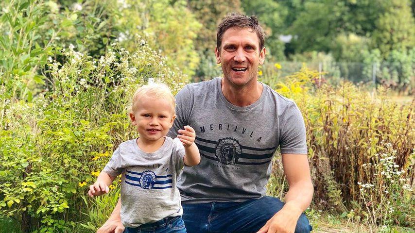 Emil-Ocean mit Papa Peer Kusmagk