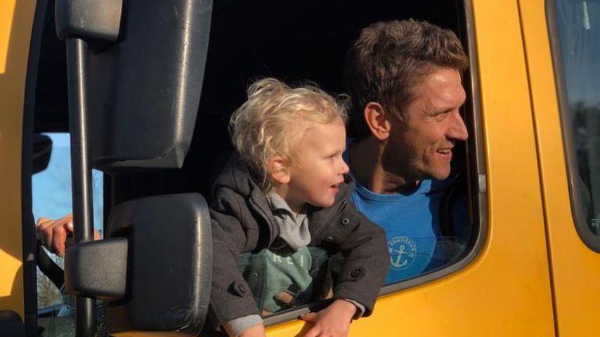 Emil-Ocean und Peer Kusmagk im Februar 2020