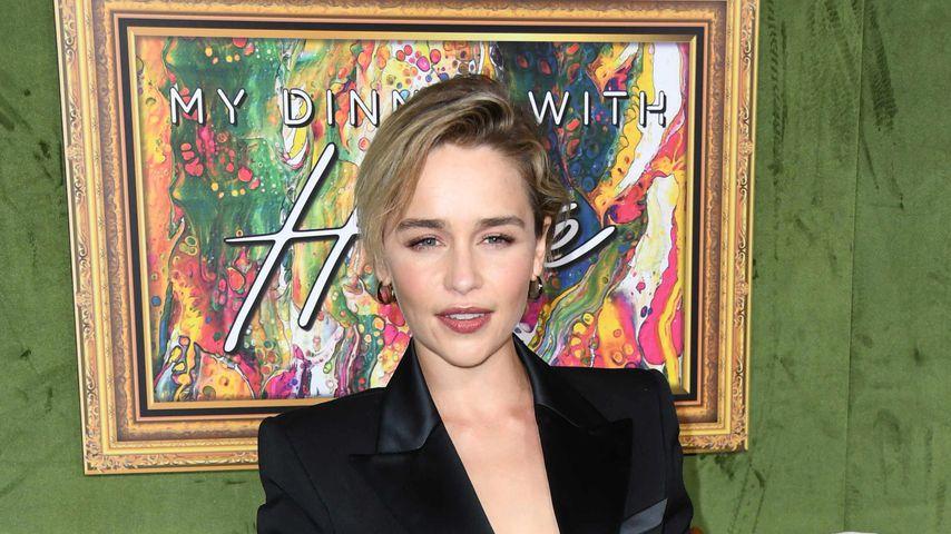 """Emilia Clarke bei der """"My Dinner with Herve""""-Premiere"""