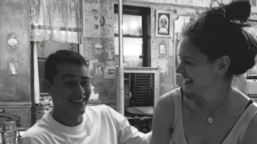 Emilio Vitolo und Katie Holmes, Dezember 2020