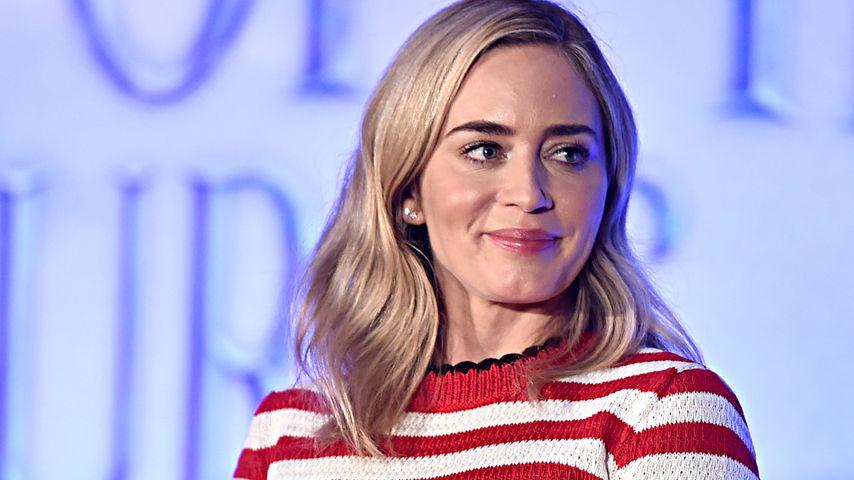 """Emily Blunt bei einer Pressekonferenz zu """"Marry Poppins' Rückkehr"""" in Los Angeles, November 2018"""