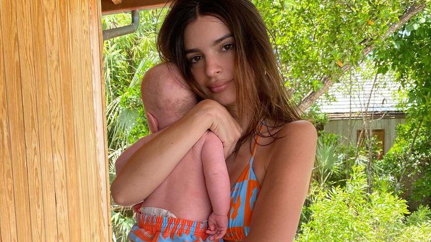Emily Ratajkowski und ihr Sohn, Juni 2021