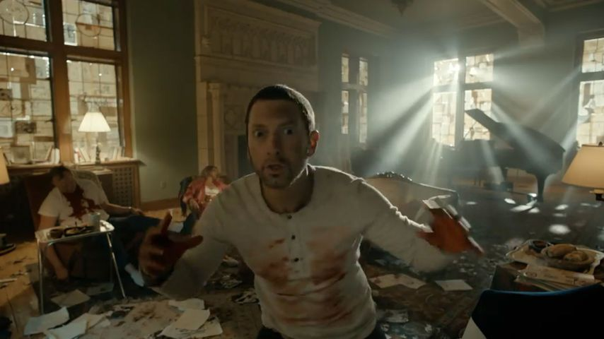 Blutbad & Leichenteile: So krass ist Eminems neuer Musikclip