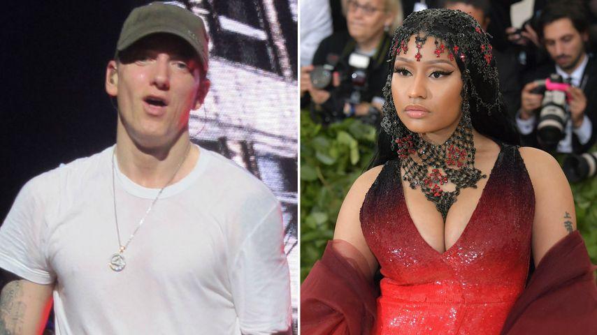 Eminem & Nicki Minaj ein Paar? Das sagt er zu den Gerüchten
