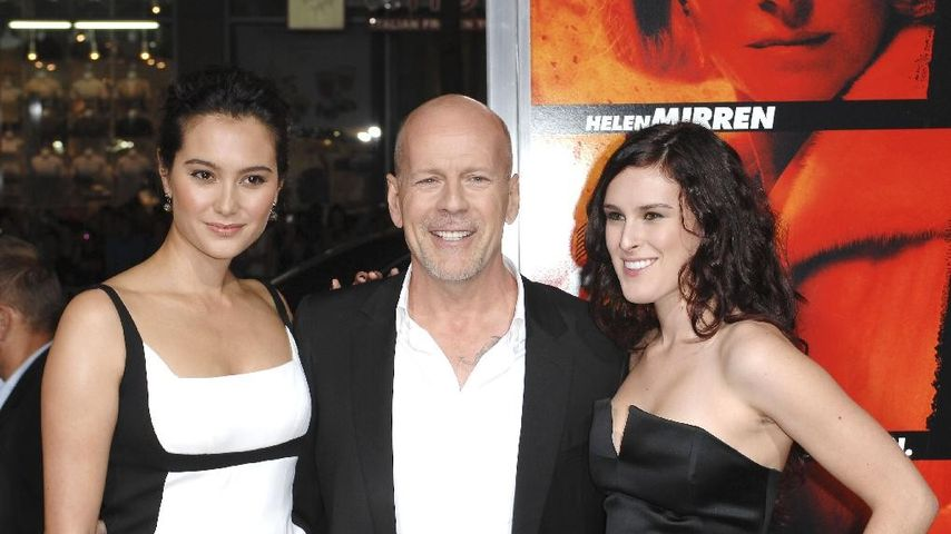 Rumer Willis und Bruce Willis