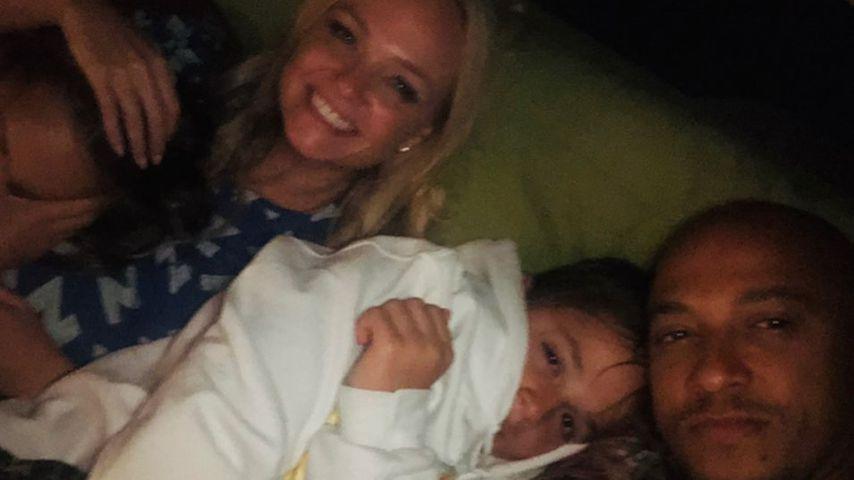 Emma Bunton und ihre Familie im Juni 2021