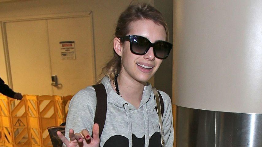 Endlich gemütlich! Emma Roberts' After-Xmas-Look
