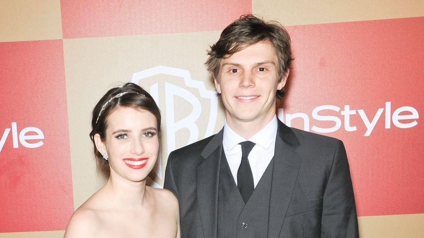 Emma Roberts und Evan Peters