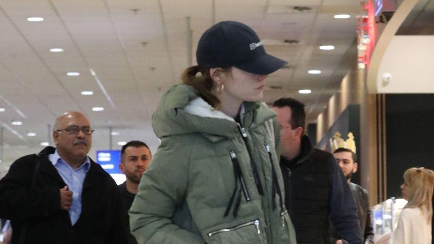 Emma Stone in Athen, Januar 2020