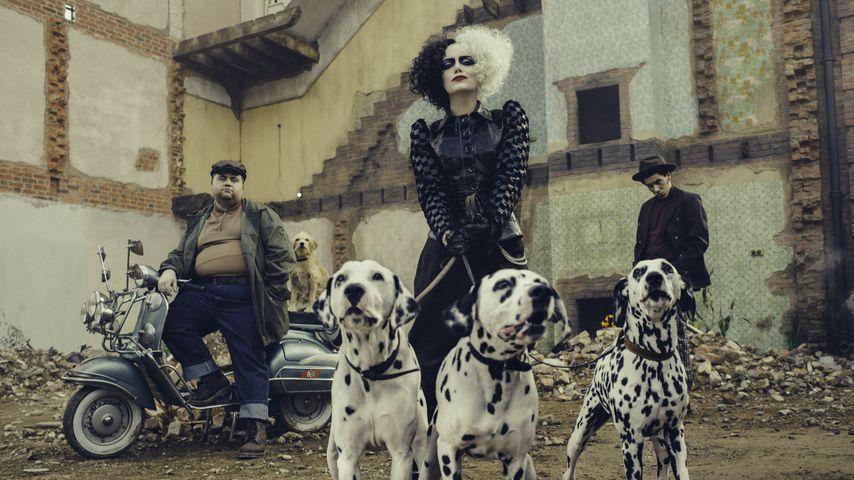 """Neuer """"Cruella""""-Trailer: So cool ist Emma Stone als Schurkin"""