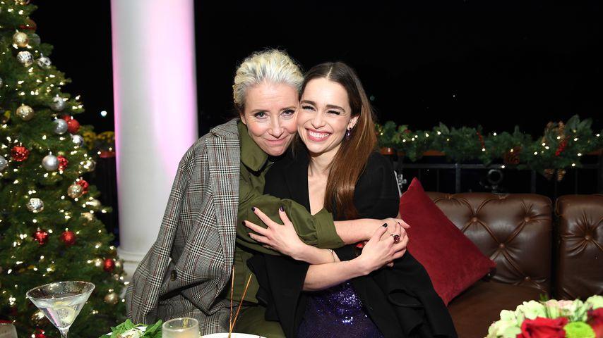 Emma Thompson und Emilia Clarke