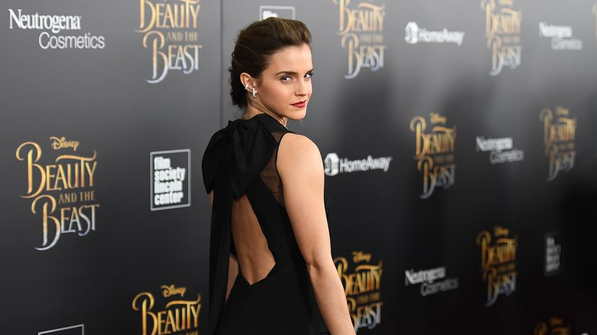 """Emma Watson beim Screening von """"Die Schöne und das Biest"""" in New York"""