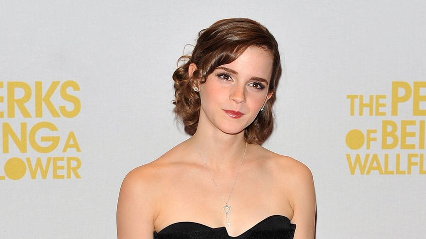 Emma Watsons Hosen-Kleid-Kuddelmuddel