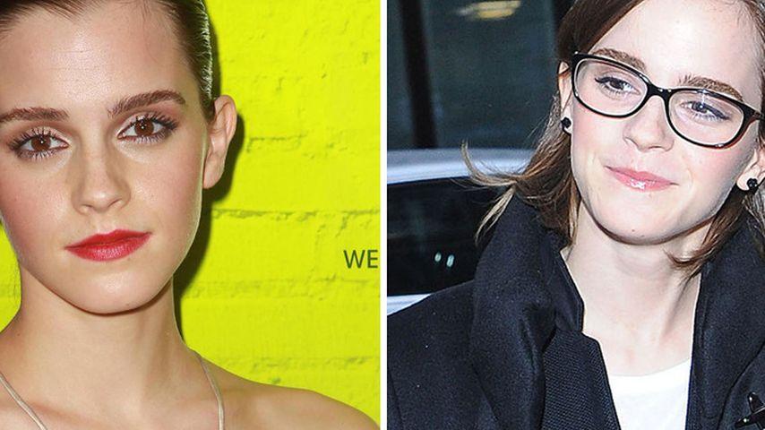 Eine gute Wahl? Emma Watson trägt jetzt Brille