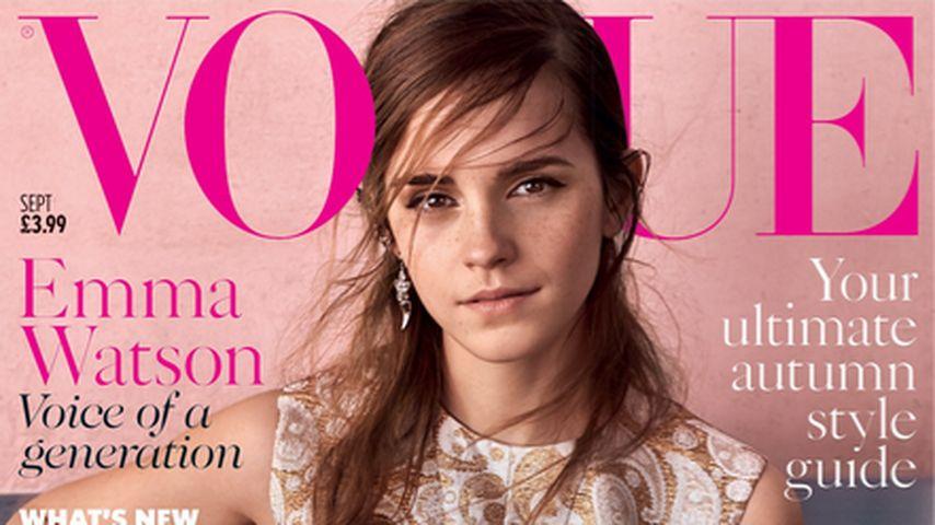 Wow! So natürlich ziert Emma Watson das Vogue-Cover