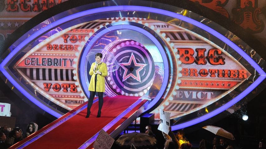 "Moderatorin Emma Willis bei der Finalshow ""Celebrity Big Brother"", 2016"