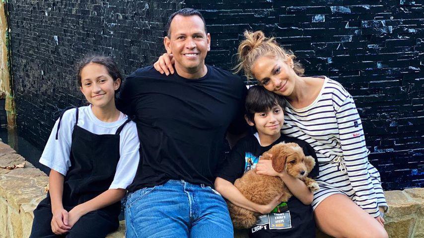 Neues Familienmitglied: Jennifer Lopez hat einen Welpen