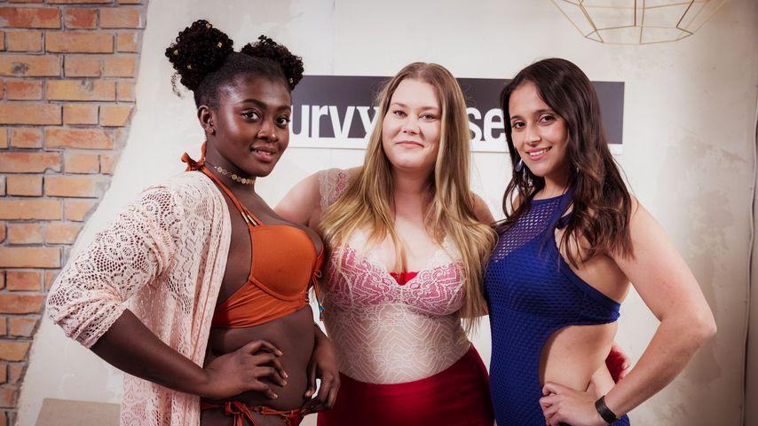 Fans sauer: Curvy Supermodels tragen viel zu enge Kleider!