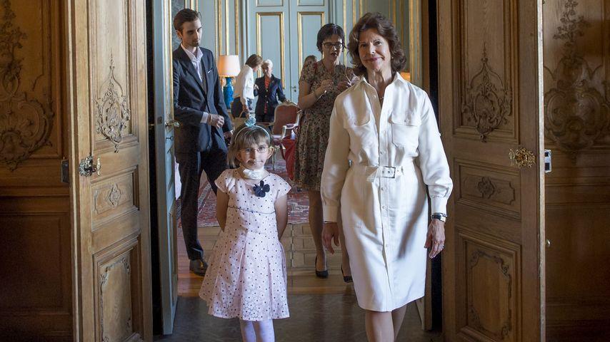Enna und Königin Silvia von Schweden