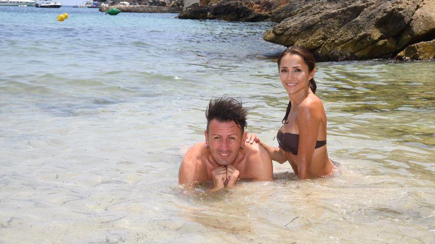 Ennesto Monté und Anastasiya Avilova im Urlaub