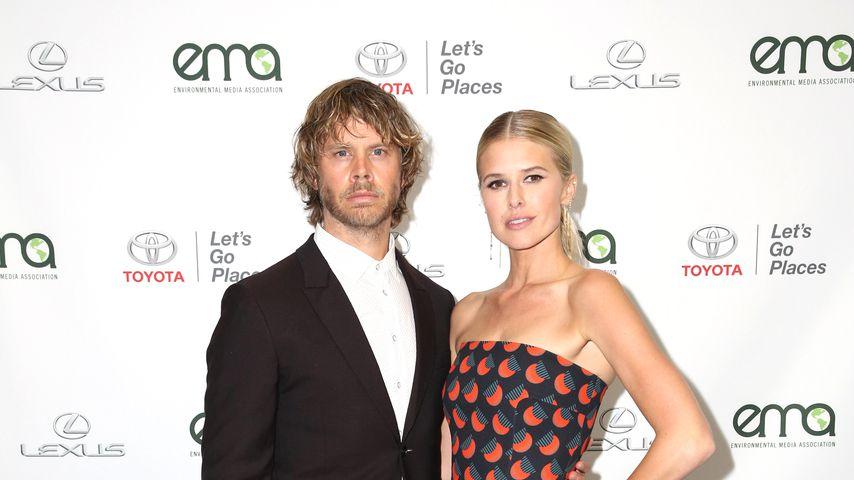 Eric Christian Olsen and Sarah Wright im September 2017 in Santa Monica