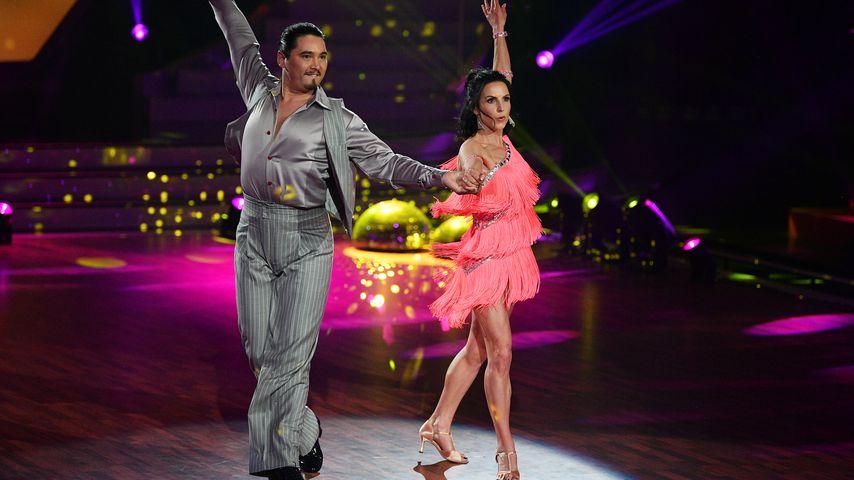 """Erich Klann und Sabrina Mockenhaupt bei """"Let's Dance"""""""