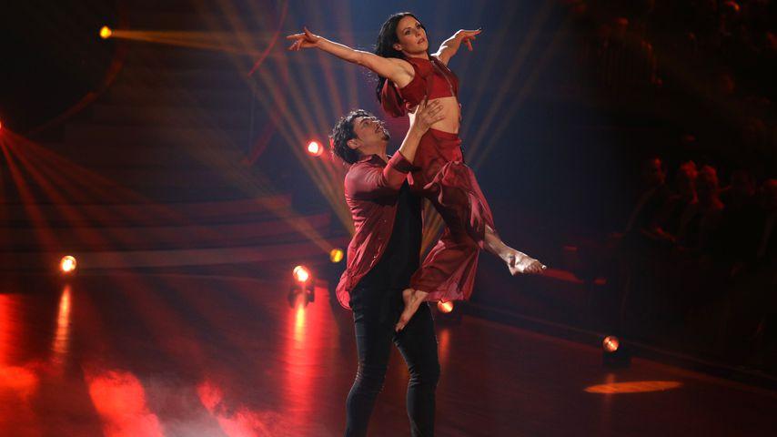 """Erich Klann und Sabrina Mockenhaupt in der vierten """"Let's Dance""""-Show"""