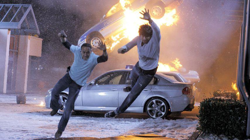 """Semir (Erdogan Atalay) und Ben (Tom Beck) in """"Alarm für Cobra 11"""""""