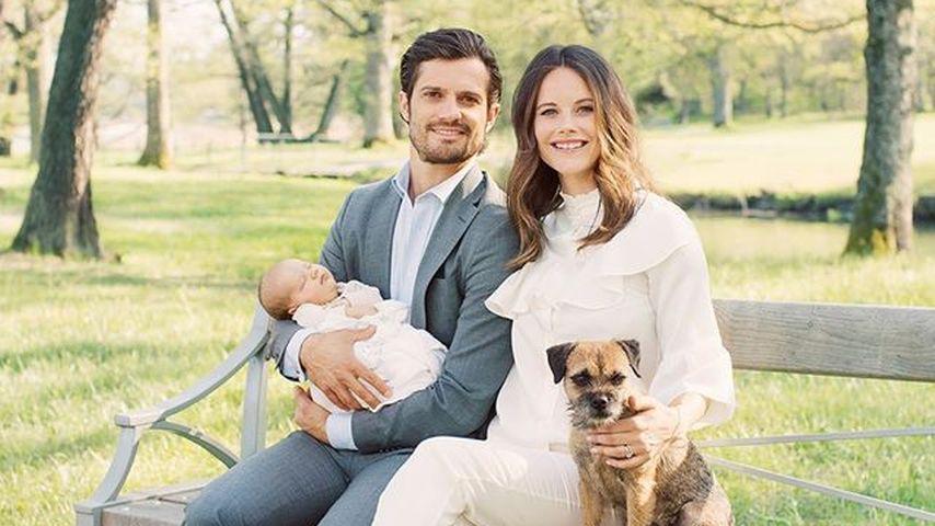 1. Familienfoto: Prinz Alexander verschläft Baby-Shooting!