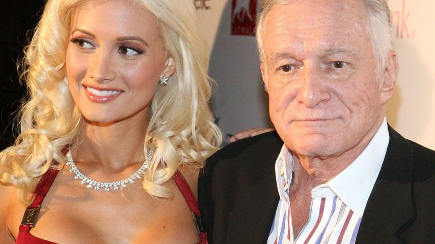 Hugh Hefner und Holly Madison