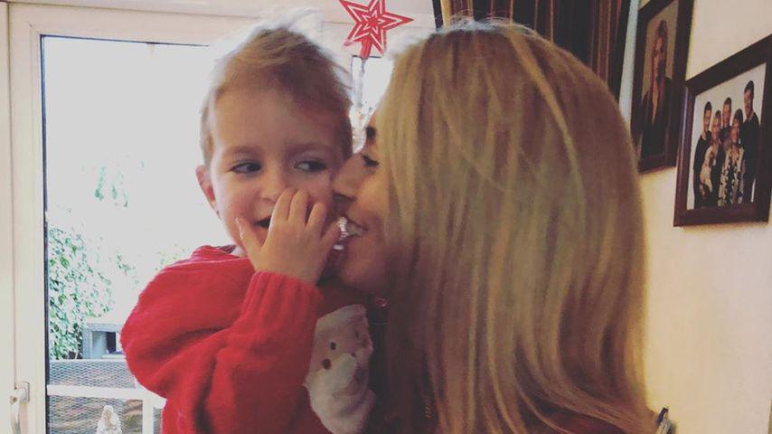 Estavana Polman und ihre Tochter Jesslynn