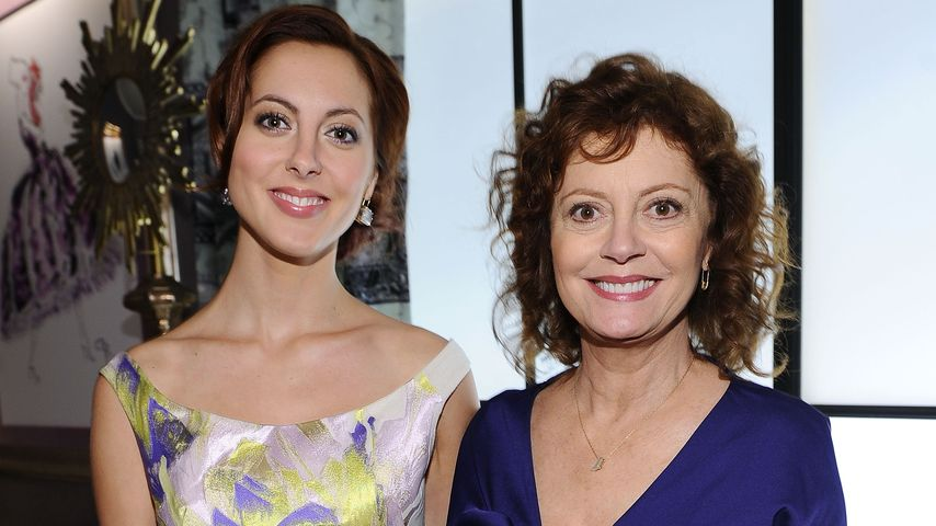 Eva Amurri und Susan Sarandon bei der Fashion Week in New York